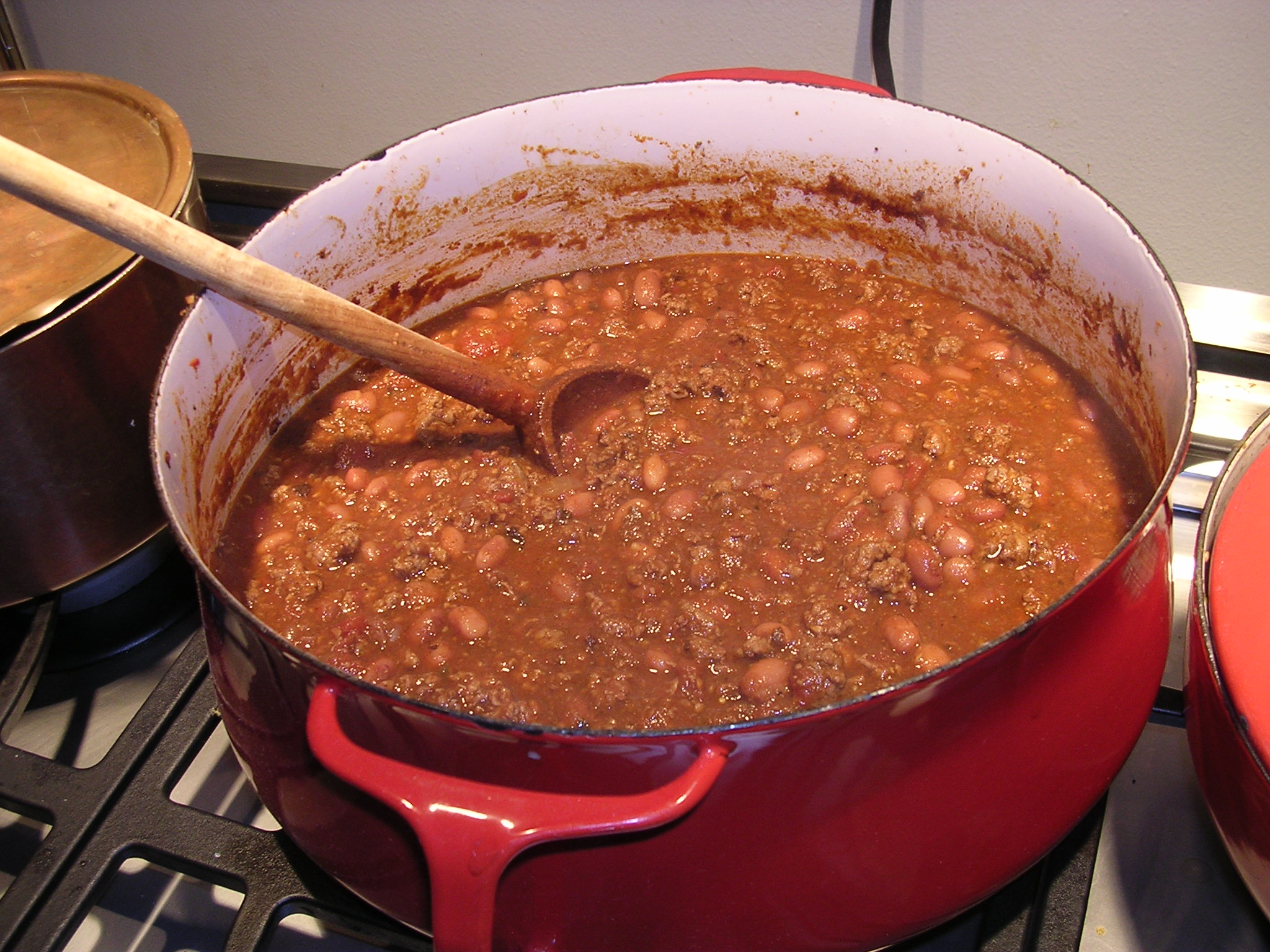 Homemade Chili Recipe From Scratch Chili Recipe Crock Pot Easy Beef with Beans Vegetarian Photos Pics Images